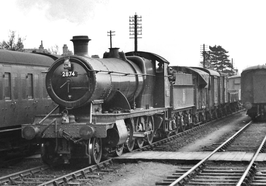 Photo of 2874 Locomotive in April 1954